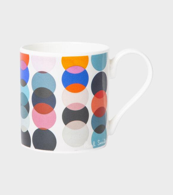 Mug Dot Print Multicolor