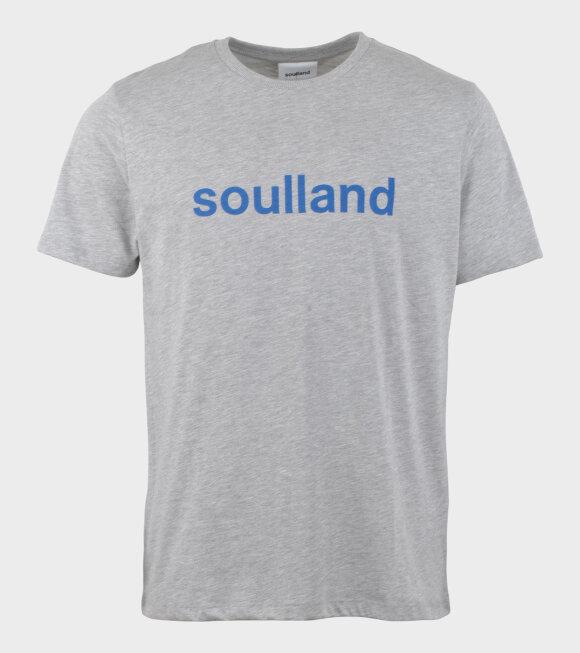 Soulland - Chuck T-shirt Grey