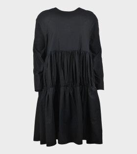 Elaine Hersby Holly Dress Long Sleeve Black - dr. Adams