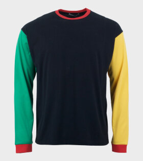Colourblock Long Sleeve T-Shirt