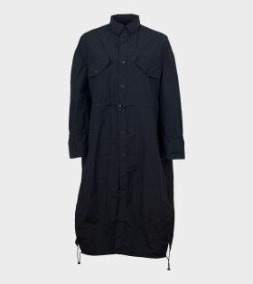 Henrik Vibskov No. 5 Coat Black - dr. Adams