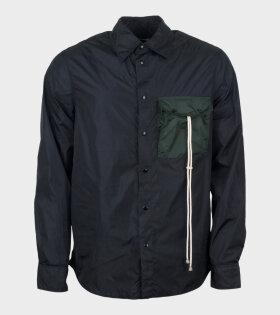 Marni Overshirt Black/Green - dr. Adams