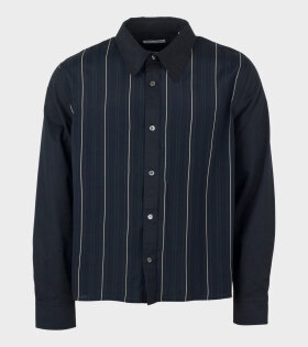 Our Legacy Placket Shirt Black - dr. Adams
