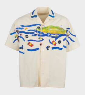 Marni CUMU0158PO Shirt Beige - dr. Adams