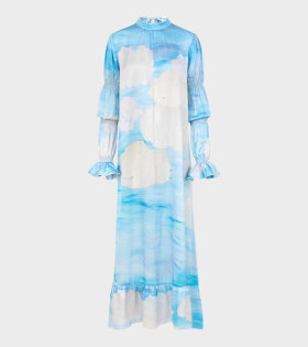 Extra Width Dress Sky Blue - dr. Adams