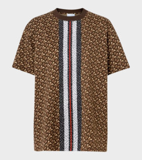 Carrick T-Shirt Brown - dr. Adams