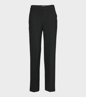 Marimekko Hakku Long Solid Trousers Black - dr. Adams