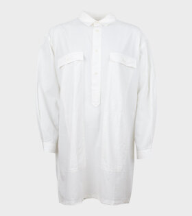 Henrik Vibskov Chop Blouse Off-white - dr. Adams