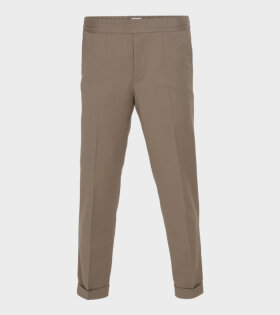 Filippa K M. Terry Cropped Trouser Brown - dr. Adams