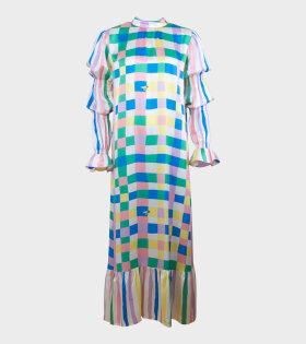 Extra Width Dress Victor Multicolor - dr. Adams