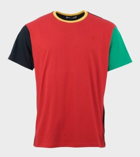 Colourblock T-Shirt Black