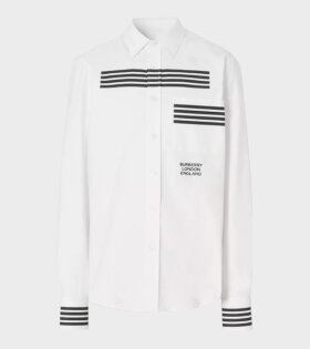 Burberry Coleherne Striped Shirt White - dr. Adams
