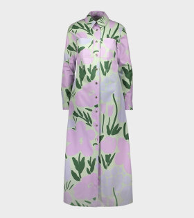 Marimekko Korjuu Talkoot Dress Green - dr. Adams