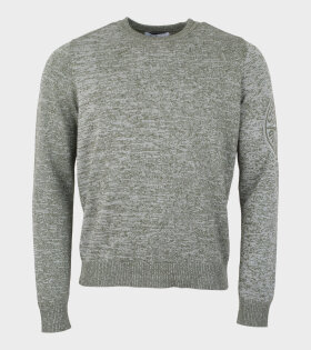 Stone Island Crewneck Knit Green - dr. Adams