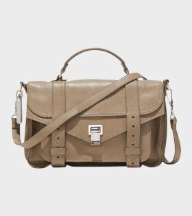 Proenza Schouler PS1 Medium Lux Leather Beige - dr. Adams