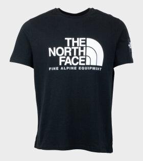 The North Face SS FINE ALP T-shirt Black - dr. Adams