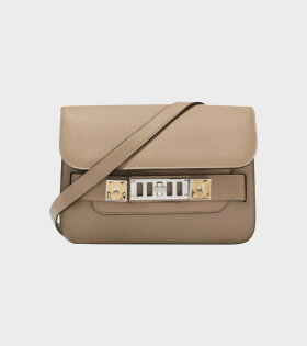 Proenza Schouler PS11 Mini Classic Smooth Leather Beige - dr. Adams