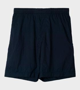 Acne Ruben Ny Rip Shorts Blue - dr. Adams