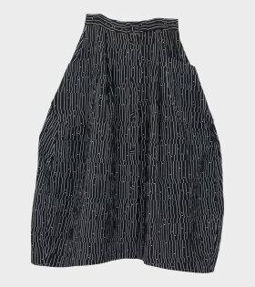 Henrik Vibskov No. 1 Skirt Black/White - dr. Adams