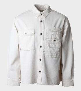 Acne Orallo Cotton Twill Jacket Beige - dr. Adams