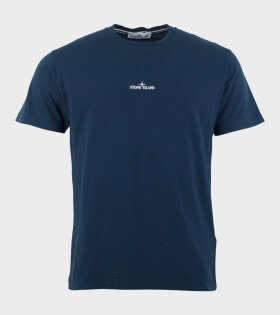 Print T-shirt Blue
