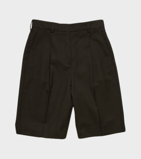 Acne Studios Ruthie Light Summer Wool Shorts Black