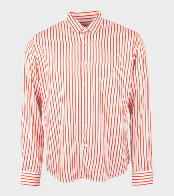 AMI - Chemise Summer Fit Shirt Red/White