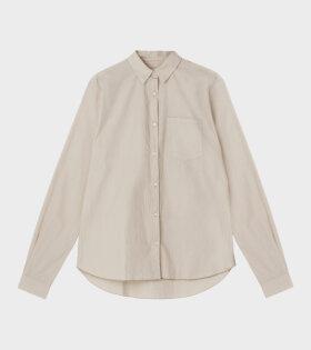 Aiayu Shirt Essential Poplin Beige - dr. Adams
