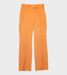 Acne Studios Patrina Cord Trouser Orange - dr. Adams
