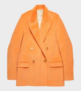 Acne Studios Janny Cord Blazer Orange - dr. Adams