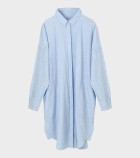 Aiayu Shirt Dress Blue - dr. Adams