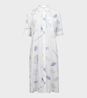 Baum und Pferdgarten Ailisa Dress White - dr. Adams