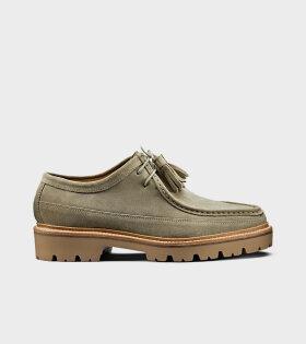 Bennett Pearl Suede Shoe Beige - dr. Adams