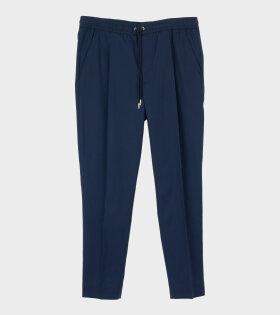 Moncler PANTALONE SPORTIVO Trouser Blue - dr. Adams