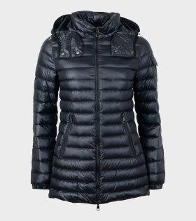 Moncler MENTHE GIUBBOTTO Jacket Black - dr. Adams