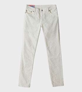 Acne Studios Max Trousers White - dr. Adams