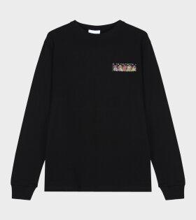 Soulland Boas Long Sleeved T-shirt Black - dr. Adams