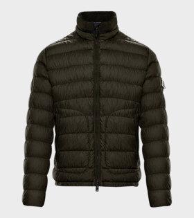 Moncler OCTAVIEN GIUBBOTTO Jacket Green - dr. Adams