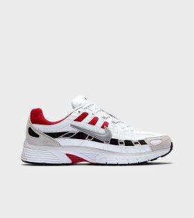 Nike P-6000 White/Red - dr. Adams