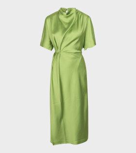 Stine Goya Rhode Dress Green - dr. Adams