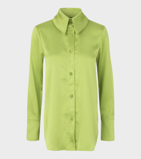 Stine Goya James Sheen Cady Shirt Green - dr. Adams