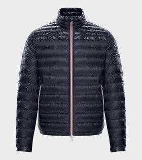 Moncler Daniel Giubbotto Jacket Blue - dr. Adams