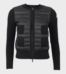 Moncler Maglione Tricot Alla Jacket Black  - dr. Adams