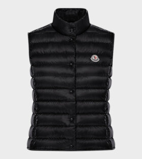 Moncler Liane Gilet West Black - dr. Adams