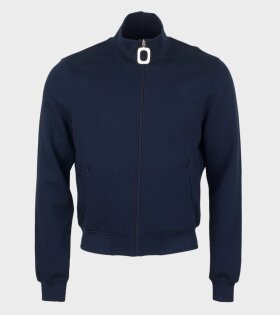 JW Anderson Neckband Track Sweat Blue - dr. Adams