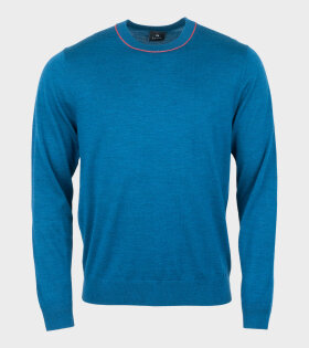 Paul Smith Mens Knit Blue - dr. Adams