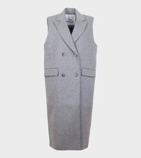 Won Hundred Aggie Vest Grey - dr. Adams
