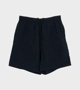 AMI Maillot De Bain Ling Shorts Black - dr. Adams