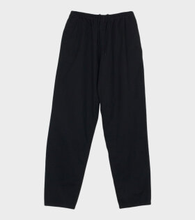 Pullover Drawstring Pants Black - dr. Adams