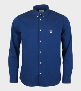 Tonsure Charles Shirt Blue - dr. Adams